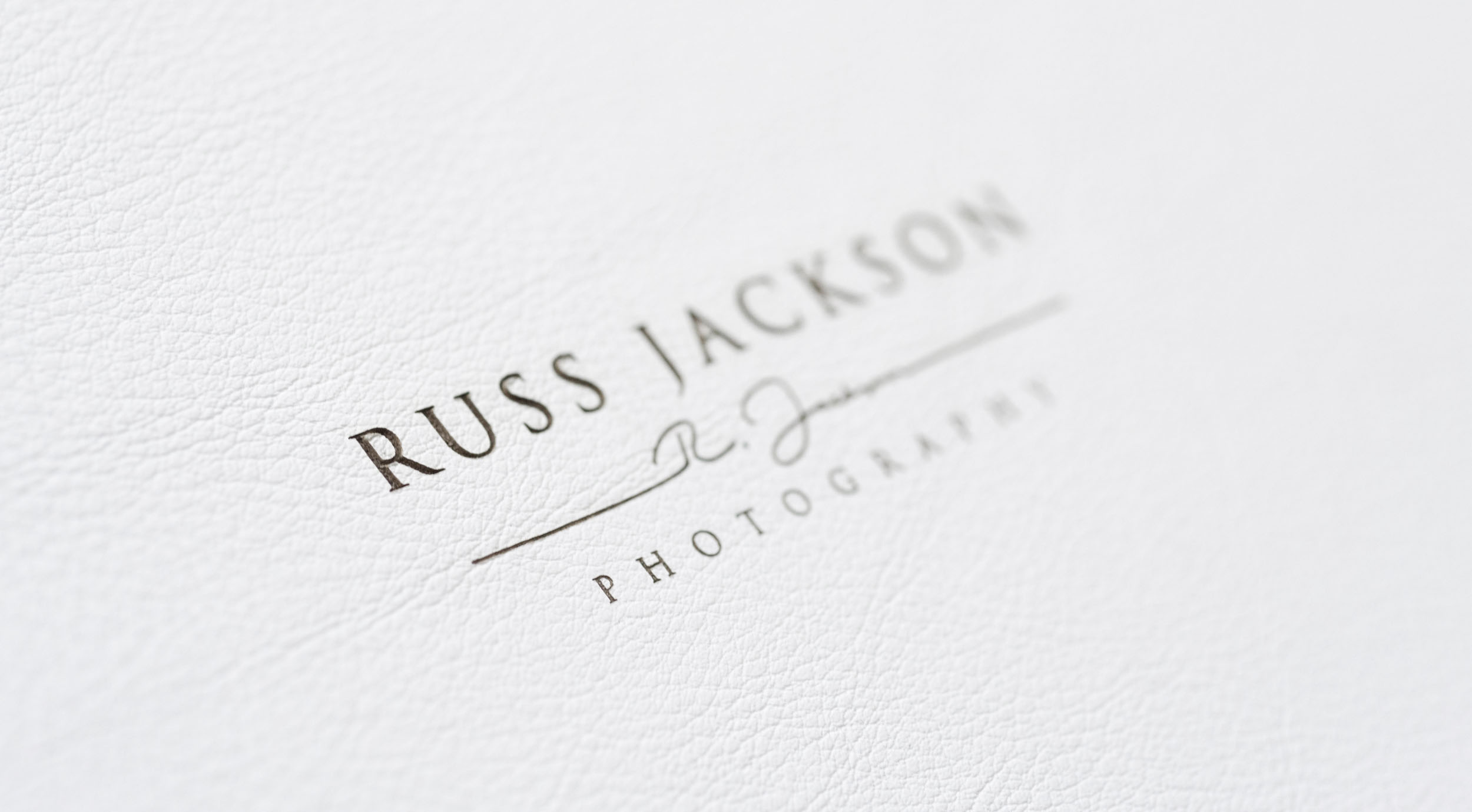 Russ Jackson Photography London Branding and Identity Design Project