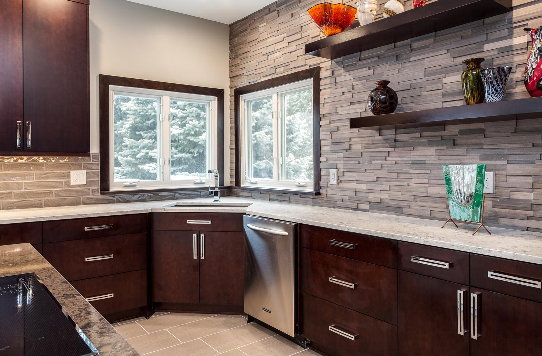 sleek contemporary kitchen renovation kitchen sinks denver Sleek Contemporary Kitchen Renovation in Lakewood Denver CO