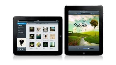 Rdio for iPad