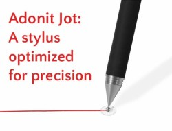 Adonit Jot: A stylus optimized for precision