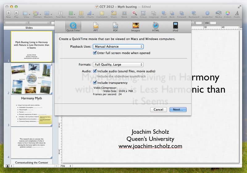 how to present a mac keynote on the conference room s pc rh joachim scholz com