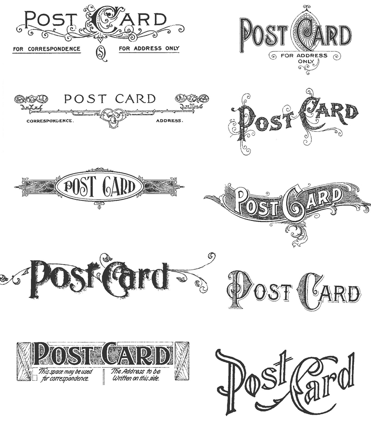 Posh Tim Holtz Cling Rubber Stamp Tim Holtz Cling Rubber Stamp Joann Forever Postcard Stamps How Much Are Postcard Stamps 2017 inspiration Post Card Stamps