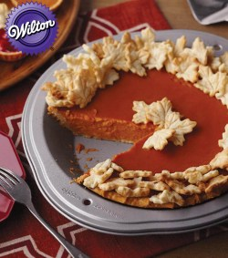 Small Of Clear Pumpkin Pie