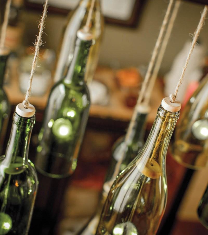 Large Of Wine Bottle Chandelier