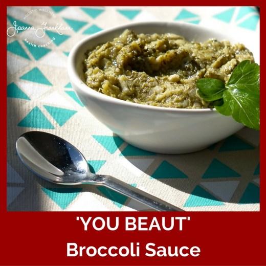 JFC Broccoli Sauce Nightshade Free