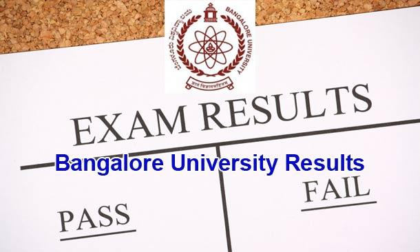 Bangalore University Results Declared