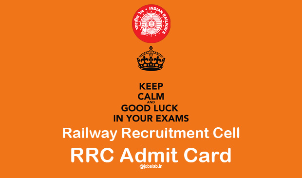 RRC Group D Admit Card 2016 Region Wise Download
