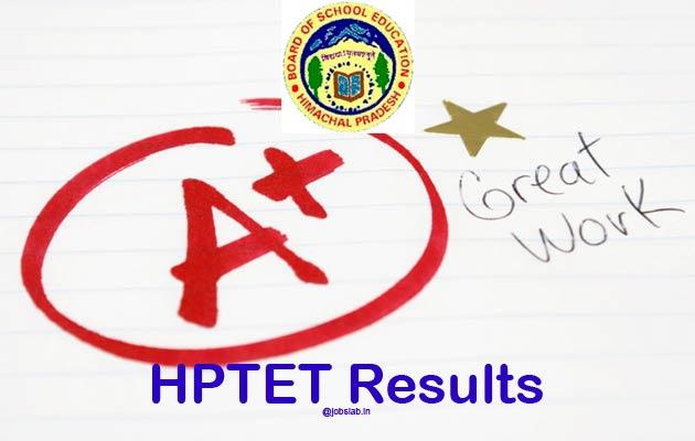HPTET Result 2016 For TGT Medical Arts, JBT, LT 28th Feb Exam