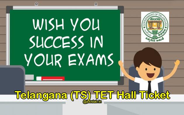 TS TET Hall Ticket 2016 Download Telangana State TET Hall Ticket