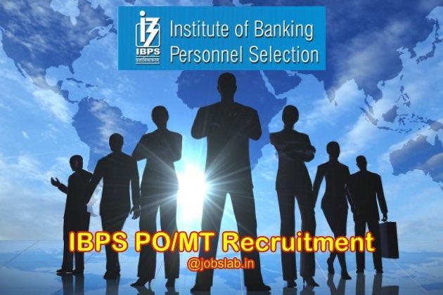 IBPS PO Recruitment 2016 Apply for 8822 CWE PO/MT-VI Posts