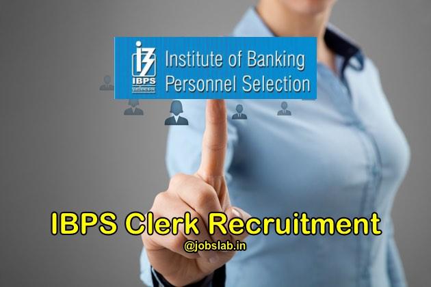 IBPS Clerk Recruitment 2016 (CWE VI) Notification Apply for 19243 Clerk Posts