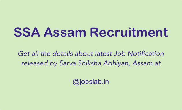 ssa-assam-recruitment