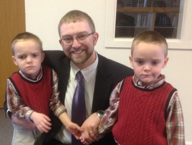 Pastor Whitla and His Sons