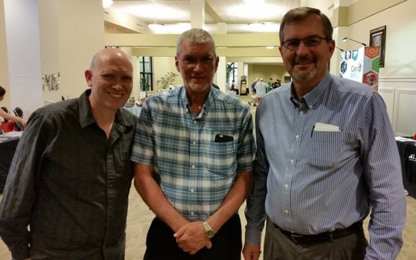 With Steve and Ken Ham
