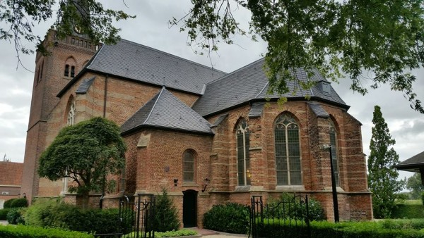 Old HHK Church Building in Opheusden, The Netherlands, Home of a Reformed Congregation Since 1639