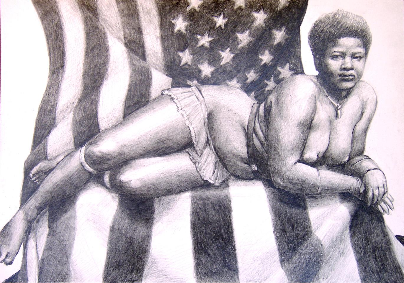 erotic pencil drawings of african americans