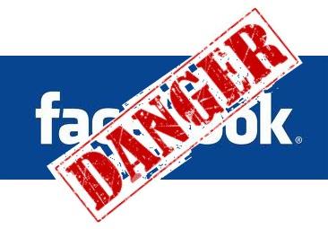 danger facebook