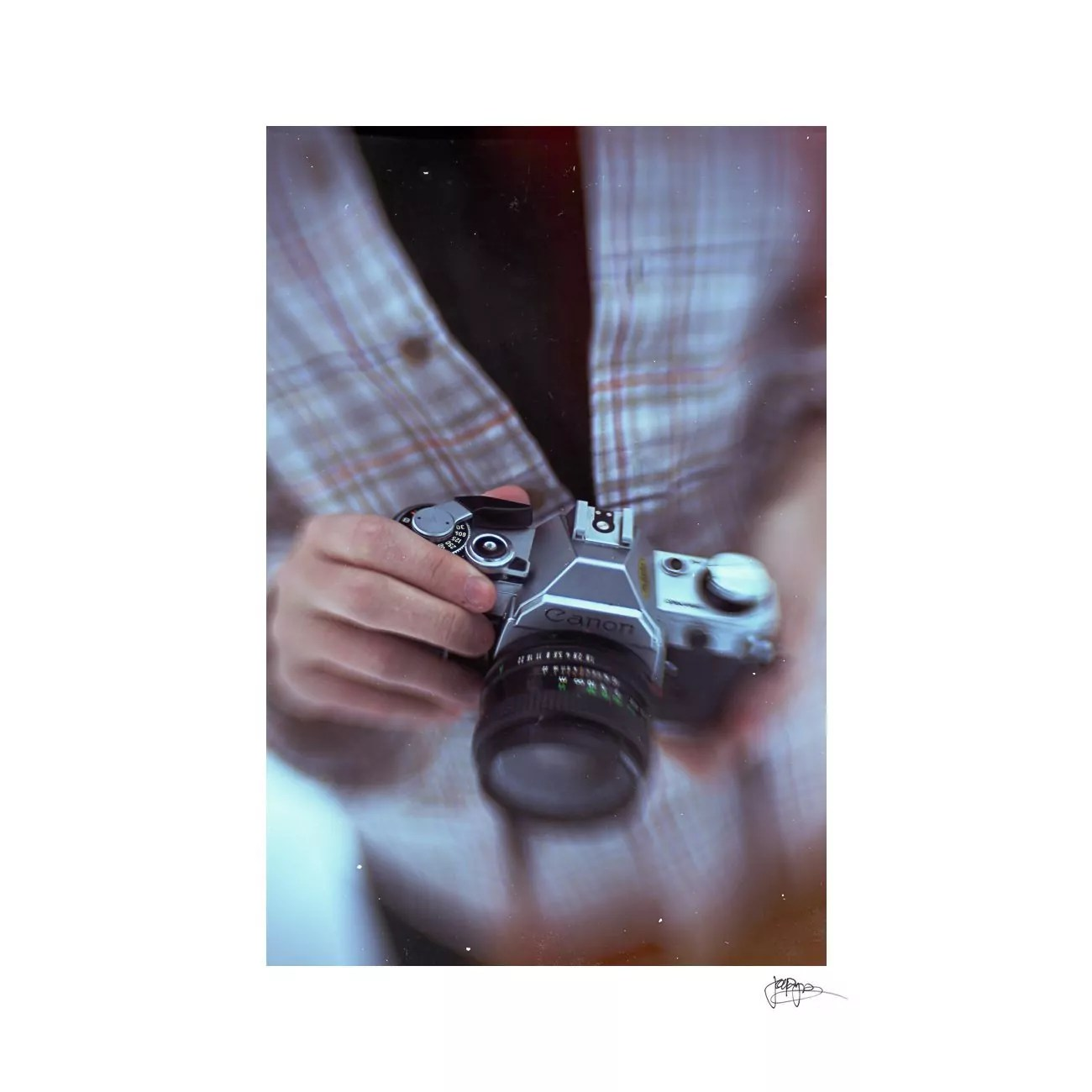 raleigh portrait photographer vintage canon rangefinder