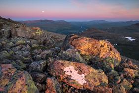 Utsikt från Storsnasens topp