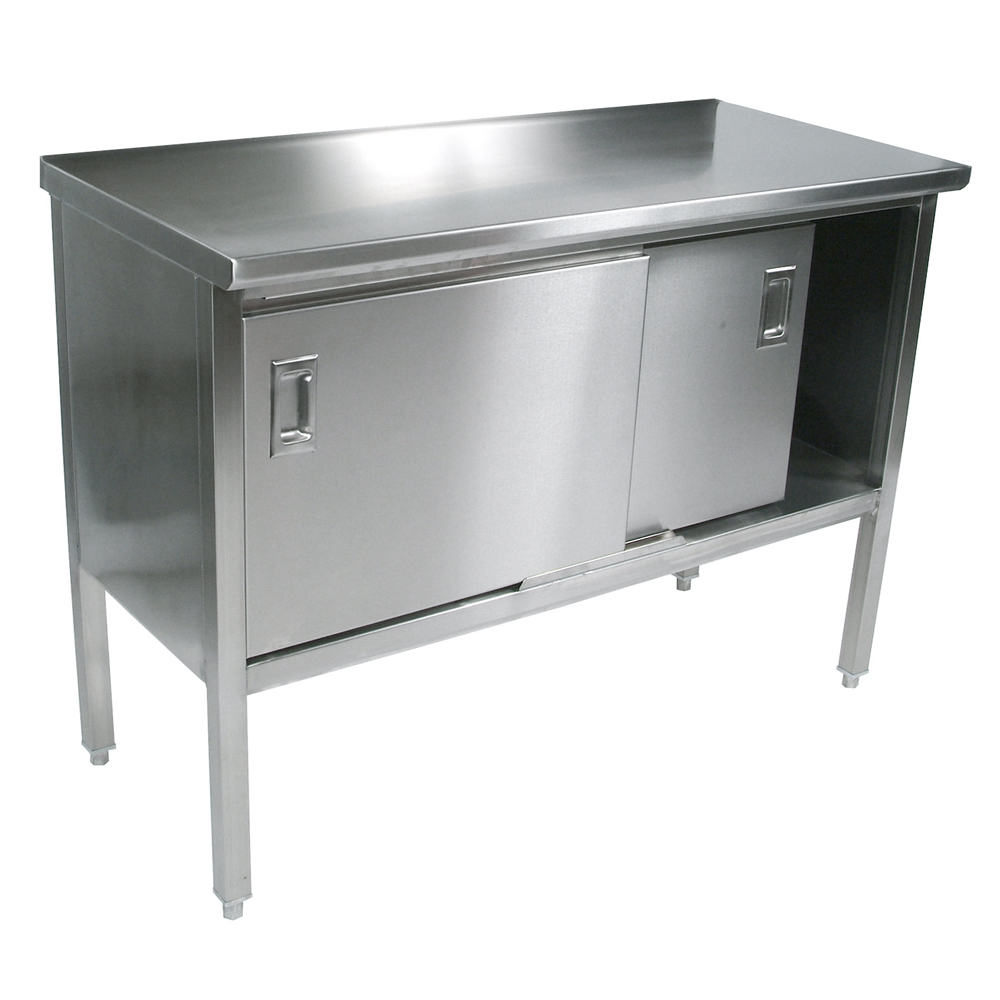 Items page stainless steel kitchen table Boos Blocks CU Cucina Marcella Kitchen Work Surface With Enclosed Base Cabinet Available With or