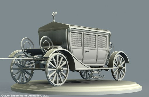 Rolls Royce Coach: Model