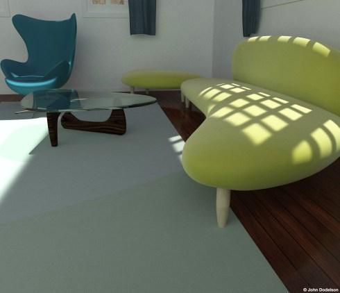 Interior1: Maya/ZBrush/Keyshot