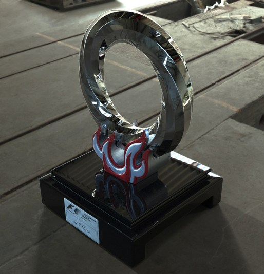 F1 Trophy: Maya, Keyshot Render