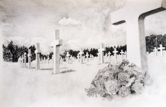 Cemetery Drawing