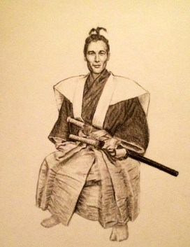 Commissioned Samurai Drawing for RedditGetsDrawn