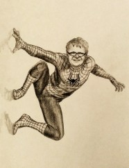 Commissioned Young Spiderman Drawing