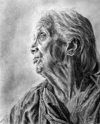 Grandmother Drawing Commission