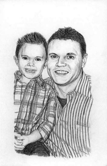 Jake and Matt Drawing