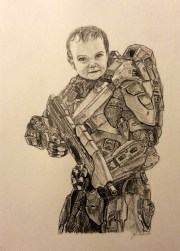 Young Master Chief Drawing