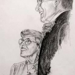 Helen-and-Bernard-Memorial-Portrait-Drawing-by-John-Gordon