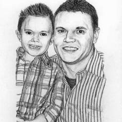 Jake-and-Matt-Memorial-Portrait-Drawing-by-John-Gordon