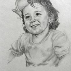 Melanie-Baby-Portrait-Drawing-by-John-Gordon