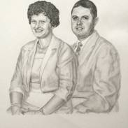 Victoria-Grandparents-Wedding-Anniversary-Drawing-2-by-John-Gordon
