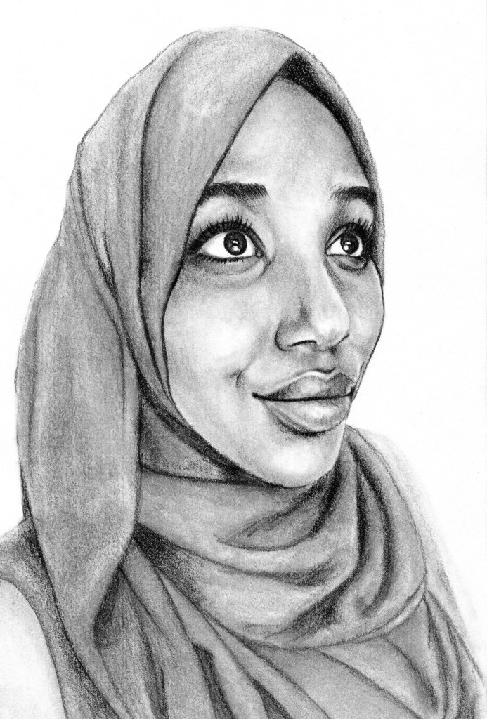 RedditGetsDrawn Pencil Portrait Drawing by John Gordon Art