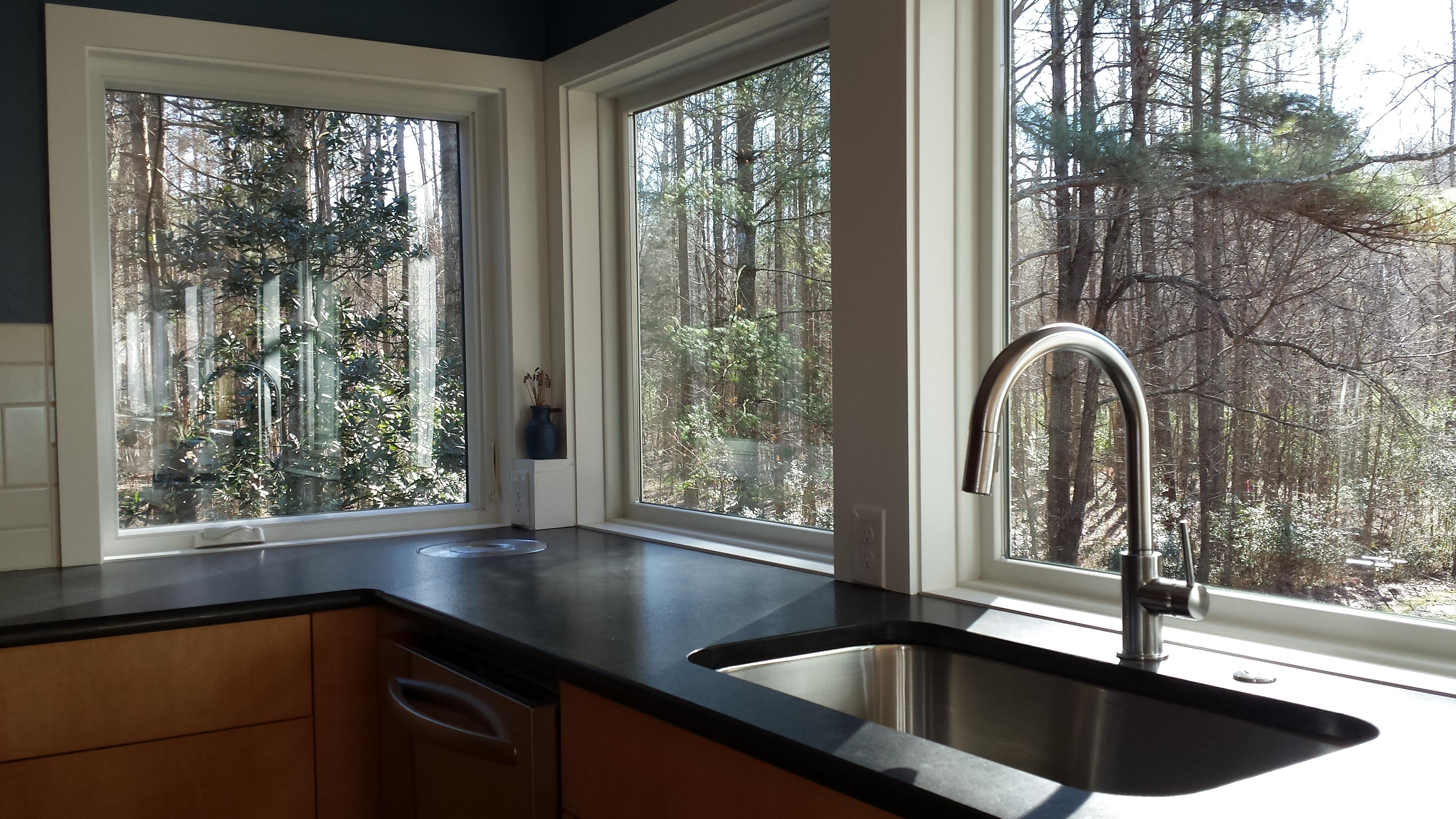 mid century modern renovation modern kitchen faucets Davis Road Kitchen Faucet Best