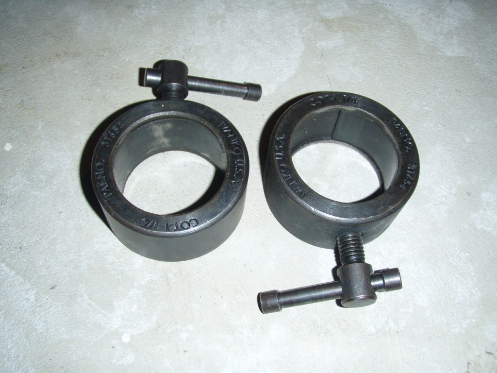 Ivanko COT-1.25 Olympic Pressure-Ring Training Collar