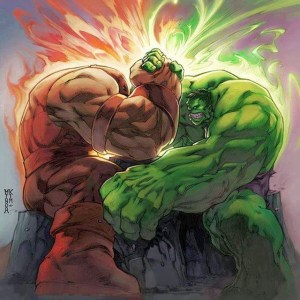Hulk vs Juggernaut...in ARM WRESTLING. #HULK #juggernaut #armwrestling #whowouldwin