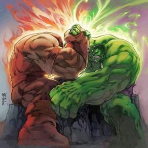 Hulk vs Juggernaut...in ARM WRESTLING. #HULK #juggernaut #armwrestling #whowouldwin