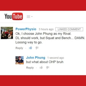 Finding lifting rivals on the Internet is a good way…