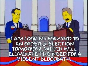 simpsons election2016