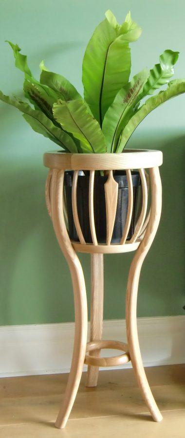 Medium Of Wood Plant Stand