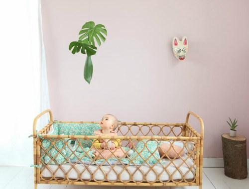 image à la une chambre bébé déco végétale