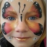 Butterfly Face by Hazel Wood