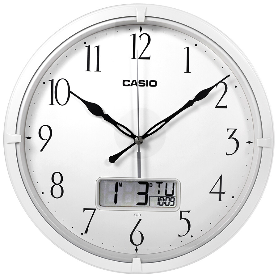 Fullsize Of Analog Digital Wall Clock