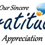 Gratitude and Appreciation Time