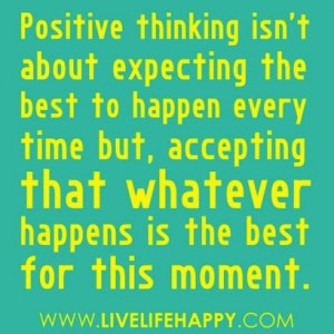 positive thinking